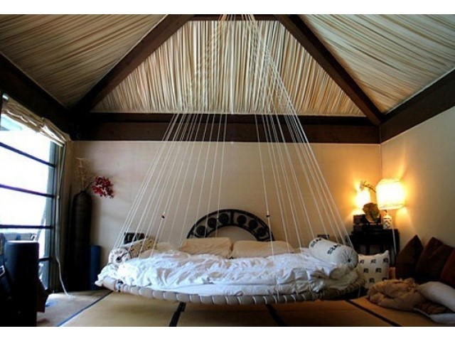 Потолочная кровать своими руками